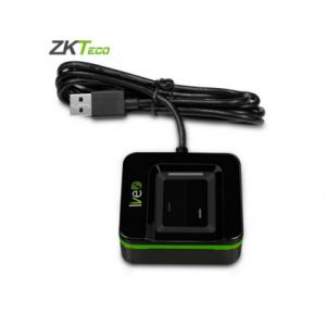 ZKTeco Live20R 指纹采集器扫描仪指纹识别器 指纹识别仪 标配(黑色)