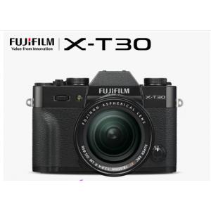 富士X-T30(18-55)微单电数码相机 黑色