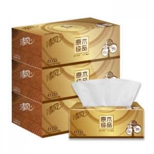 清风 3层130抽36盒 抽纸