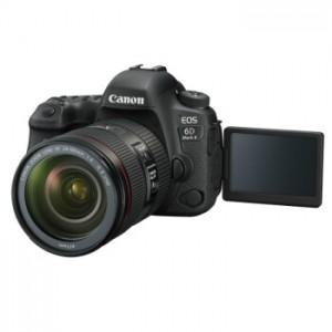 佳能(Canon)EOS 6D Mark II全画幅数码专业高清4K视频单反相机套机 含24一105USM镜头