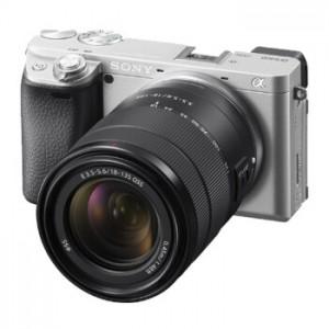 Sony/索尼  微单数码相机 a6400M(18-135)套机银色