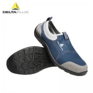 代尔塔 301216 透气劳保鞋 金属包头安全鞋 蓝色 44(单位:双)