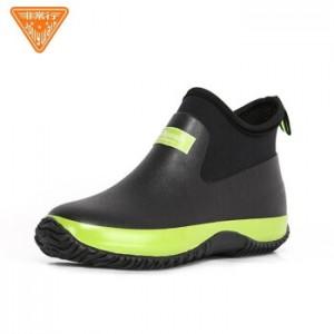非常行(Jolly Walk) 雨鞋 防水鞋 男女雨靴胶鞋时尚雨靴水靴子劳保套鞋 JW218 绿黑 43(销售单位:双)