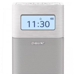 索尼/SONY SRF-V1BT 收音机 蓝牙音箱FM/AM闹钟收音机音响 白色(WSZ)