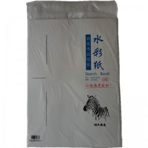 斑马 CZ32304 水彩纸 4K 230g 380*530mm 10张/包