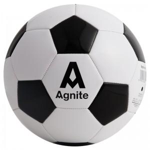 安格耐特(Agnite) F1203 5号标准训练足球 PVC机缝 经典黑白 XC