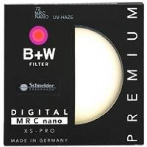 B+W 72mm MRC NANO XS-PRO 超薄多层纳米镀膜UV镜保护镜(单位:个)