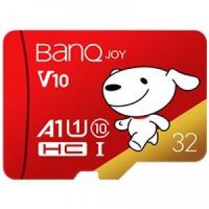 banq U1 PRO 32GB U1 C10 A1 高速畅销款 TF(MicroSD)存储卡(单位:个)红色