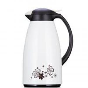 五月花 1.3L 保温壶保温瓶 玻璃内胆 开水瓶 白色(单位:个)