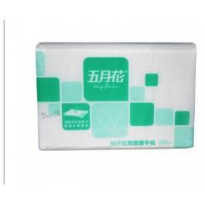 五月花A18250S擦手纸  双层200 20包/箱(计价单位:箱)