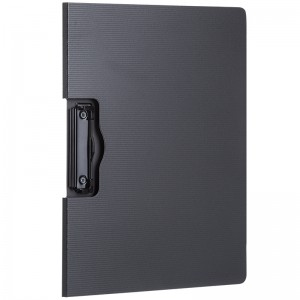 得力 横式折页板夹 5011 A4 210*297mm 灰色