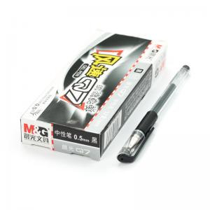 晨光 Q7 0.5mm 中性笔 黑色 12支/盒 单位:盒