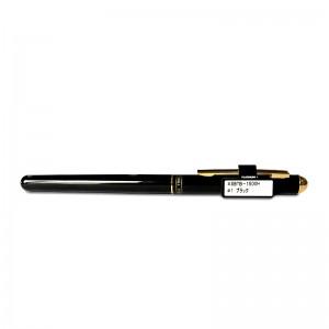 白金 水性 圆珠笔 SBTB-1500H 0.5mm 金属杆 配盒 子弹头 插盖式 黑色