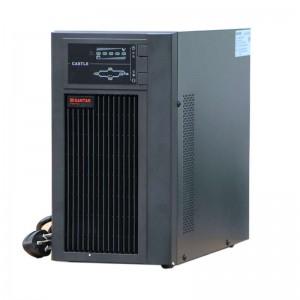 山特 UPS电源 C3KVA 在线式 额定容量3KVA 电池类型Panasonic 铅酸密封 免维护 黑色