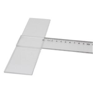 得力(deli) 8410 有机丁字尺 明绘图尺 工程尺 工地用尺 60cm