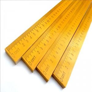 诚倍 木直尺 1米 米尺 毫米厘米 教学仪器