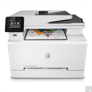 惠普 彩色激光打印机 传真机 Color LaserJet Pro M281fdw A4幅面 打印/复印/扫描/传真 双面打印 有线无线网