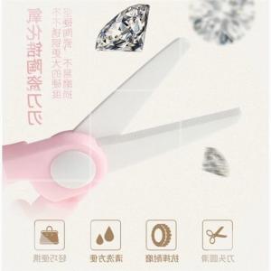 other 幼儿剪刀 绿色 粉不锈钢剪刀(含剪套)