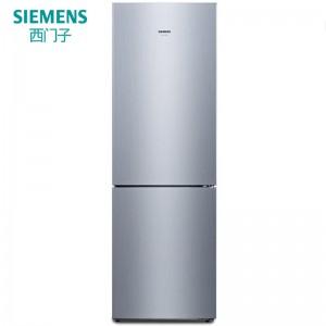 西门子 冰箱 KG33NV24EC 电脑控温 风冷 2级能效 双门 定频 301-400升 银色