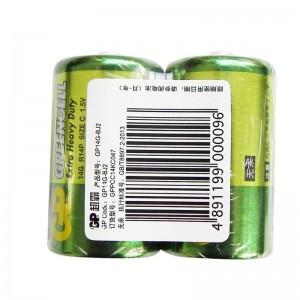 超霸 2号 电池 1.5V 碳性电池(单节价)