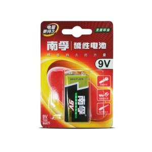南孚 碱性电池 6LR61-1B/9V 9V 1节/卡