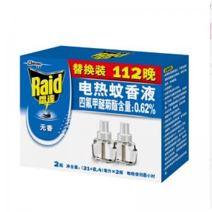 雷达 29.4ML*2瓶 电热蚊香液 无香型 112晚实惠家庭装