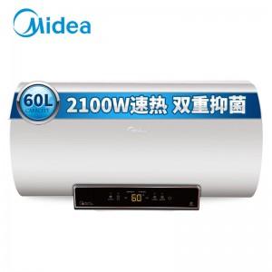 美的 热水器 F60-21BM3(HY) 60升 2级能效 微电脑式 电热水器