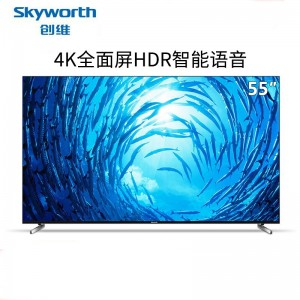 创维(Skyworth)Q3A 4K超高清人工智能HDR互联网络液晶电视机LED平板电视WiFi 55Q3A(55英寸)