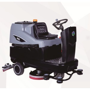 白云 洗地机 A62 驾驶式 洗地宽度86cm 2200w 清水箱170L 适用于广场/车站/医院/学校等中大型需要地面清洁的场所