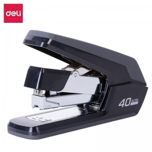 得力 0371 订书机 省力型订书机订书器
