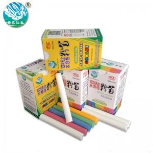 白衣仙子 无尘 水溶性 粉笔 20支/盒颜色:彩色(20支/盒)