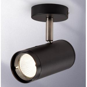 雷士照明 led吸顶射灯 通体黑-35w 暖黄光