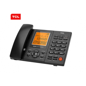 TCL 88 固定座机 录音电话机 办公家用 黑色