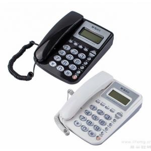 晨光AEQ96761固定电话机 黑白颜色备注 单位:台