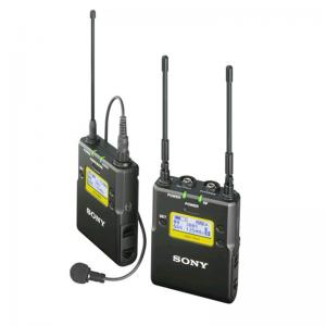 索尼 无线领夹 采访话筒 UWP-D11 黑色