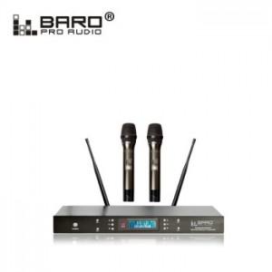 百乐 BARO X1 一拖二UHF无线话筒