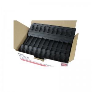 得力 (Deli) 3828 装订夹条 100支/盒 12盒/箱 12.5mm