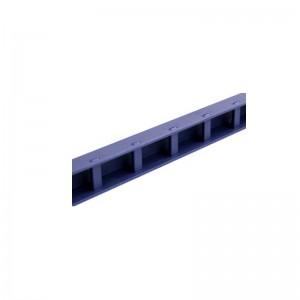 得力 (Deli) 3829 装订夹条 10孔 15mm 100支/盒