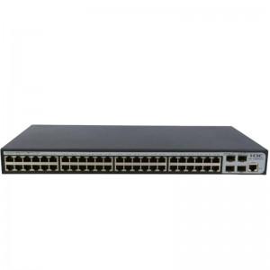 H3C 交换机 SMB-S1850-52P 黑色 48端口千兆以太网交换机
