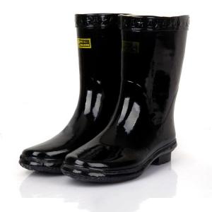 国产 37码 中筒雨靴