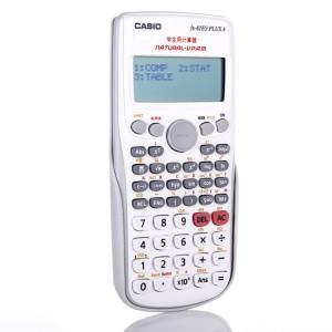卡西欧(CASIO)学生用函数计算器 FX-82ES PLUS A颜色:灰白色