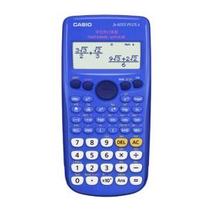 卡西欧学生用函数计算器 FX-82ES PLUS A 蓝色