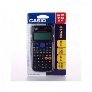 卡西欧(Casio) 学生用函数计算器 FX-82ES PLUS A 黑色