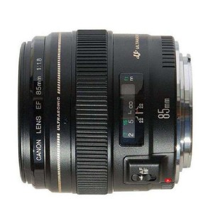 佳能 镜头 EF 85mm f/1.8 USM 最大光圈F1.2 滤镜口径 58mm