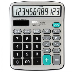 得力 1837  桌上型计算器