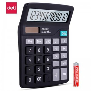 得力/Deli 桌面通用办公计算器 837(销售单位:个)