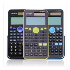 D82ES 得力计算器 函数计算器 计算器颜色:蓝色