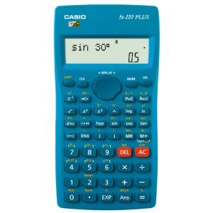 卡西欧函数计算器 FX-220PLUS