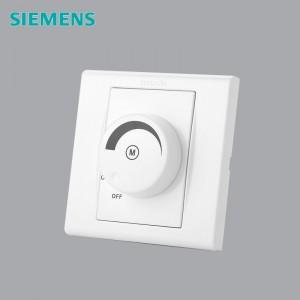 西门子 5UH8621-3NC01 86*86mm 吊扇调速开关 白色
