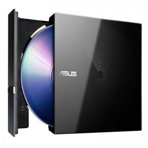 华硕 移动 刻录光驱 SDR-08B1-U 8倍速 USB2.0 兼容Win7/Win10/apple系统